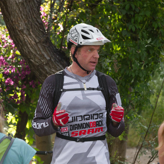 Image of Simon Lawton of Fluidride mtb clinics